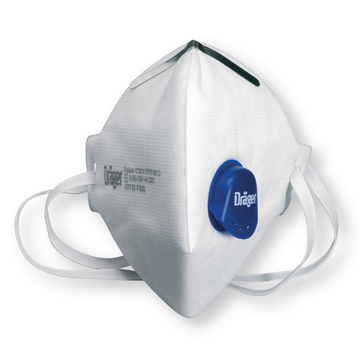 Fine dust mask Premium with valve FFP3